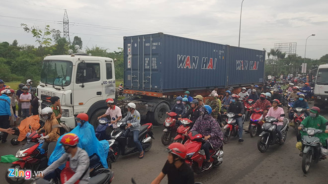 Xe container có dễ bị mất thắng?